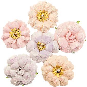 Prima Marknadsföring Lavendel Frost Blommor Söt Melodi