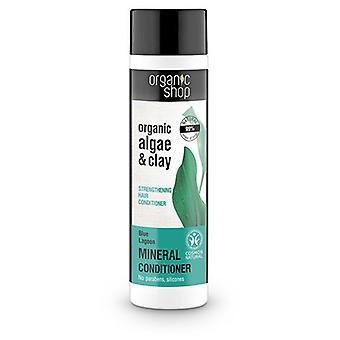 Organic Shop Bálsamo Capilar Fortalecedor de Algas y Arcilla 280 ml