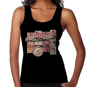 Pan Am Etiquetas de equipaje Montage Women's Vest