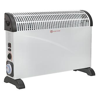 Sealey Cd2005Tt Convector Heater 2000W/230V With Turbo And Timer