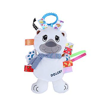 Bear Baby Hanging Toys Children Rattle Toys With Bell Soft Plush Rattling Doll
