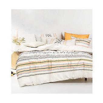 Amsons Charlotte Multicolour Cotton Quilt Cover Set