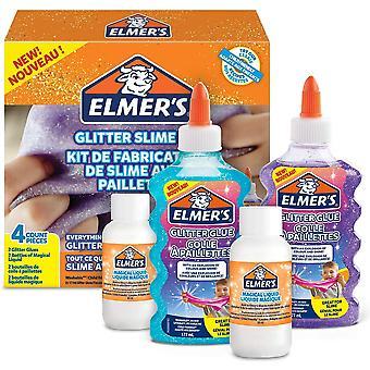 FengChun Elmers 2083515 Glitter Slime Kit (DIY Schleim Herstellung)