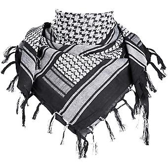 FengChun Halstuch/Kopftuch Shemagh,100% Baumwolle Palituch Taktischer Schal Arabischer Wsten Schals