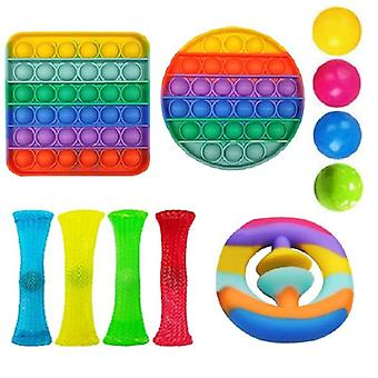 11st Pack Fidget Leksaker Sensory Toy Set Antistress Relief Fidget Leksaker