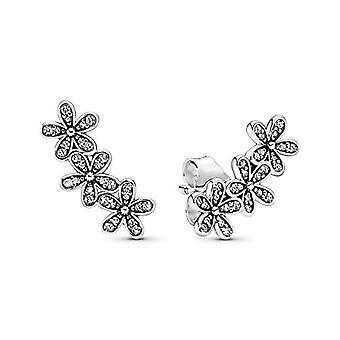Pandora Silver Woman's Tone Earrings - 290744CZ