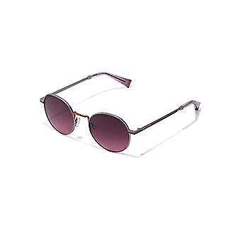 Hawkers MOMA Sunglasses, Silver Red, Unisex-Adult One Size