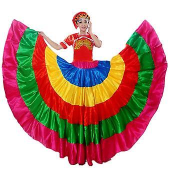 Flamengo Spain Skirt Dance Costumes