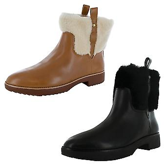 Fitflop Womens Mimie Shearling Ankle Boot Shoes