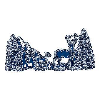 Tattered Lace Regal Reindeer Die Set