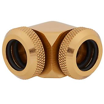 Corsair XF Hardline 90 Angled 14mm Gold Fitting - Twin Pack (CX-9052016-WW)