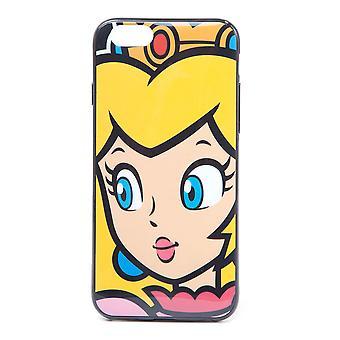 Nintendo - Princess Peach Face Apple Iphone 6 Puhelimen kansi
