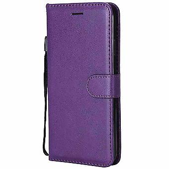 Anti-Klopf-Schutz Pu Leder Flip Wallet Case