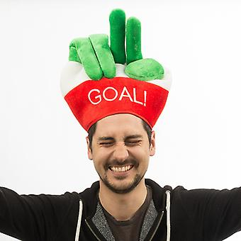 Italiensk flaggmössa med fingrar