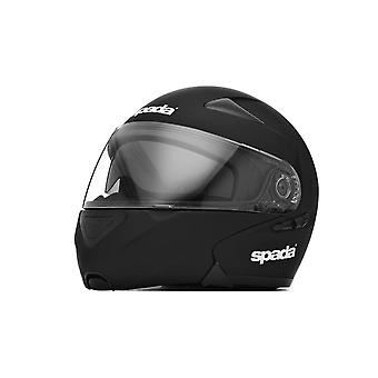 Spada Reveal Motorcycle Helmet Matt Black Flip Up Sun Visor EC2205