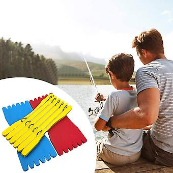 10pcs/Lot EVA Foam Fish Winding Storage Boards Line Fishing Wire Holders Carps Crucian Plate Hook Tackle