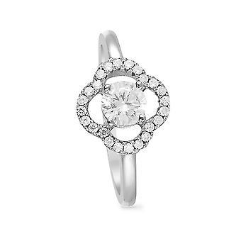 Ring 'Precious Flower' Silver 925
