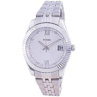 Fossil Scarlette Mini Diamond Acente Quartz Es4897 Women's Watch