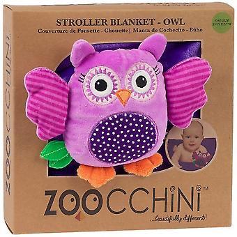 Zoocchini Fleece Stroller Buddy Blanket Owl