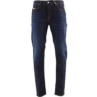 Diesel Blue D Fining 34 Leg Jean