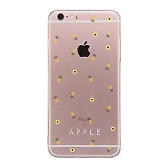 Apple iPhone 6 6S Plus avoin BFF puhelimen kuori (ananas kuvio - Apple)