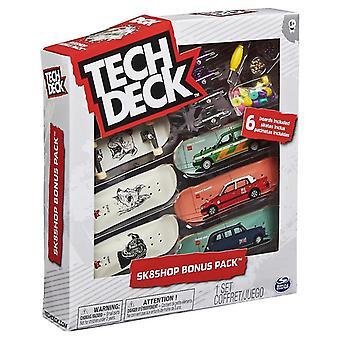 Tech Deck 96mm Fingerboard Sk8Shop Бонус 6-Pack - Шоколад (говорит DGK)
