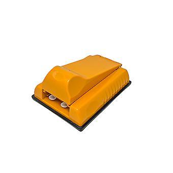 H-perusteet savukkeiden tamppauskone 2 savukkeelle, jotka on valmistettu muovista oranssissa - savukkeiden tamppauslaite