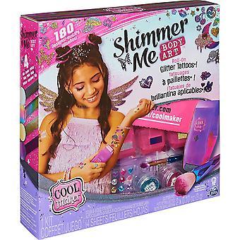 Spin Master Cool Maker Shimmer Me Body Art