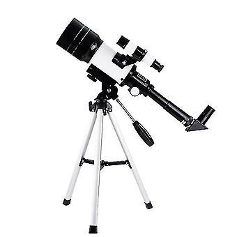 Telescopio astronómico monocular de 70 mm 300 mm telescopio profesional de observación de viajes al aire libre con trípode