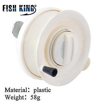 Król ryb zimowy wędkarz muchowy 50/75 cm 2 sekcje wędki z kołowrotkiem i