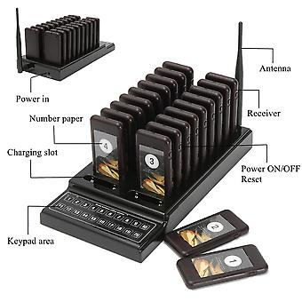 Wireless Restaurant Pager Coaster Paging Queuing Restaurant Coaster Pager