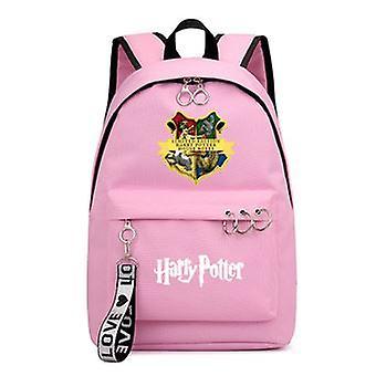 هاري بوتر شارة هوجورتس حقيبة ظهر للأطفال 44 سم الوردي