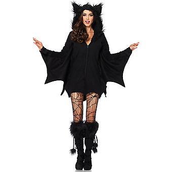 ליל כל הקדושים למבוגרים חתיכה אחת ערפד המכשפה כהה עטלף תלבושות מדים