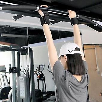 Gewichtheffen polshaken, handgrepen trekhaak riemen voor fitness