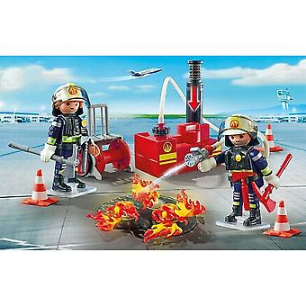 Playmobil City Action brandbekämpning drift med vattenpump