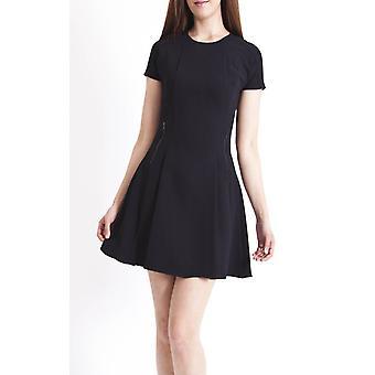 Ex Topshop Zip Detail Flippy Dress