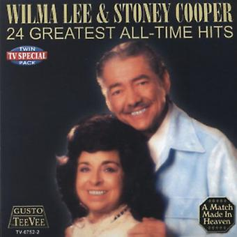 Lee/Cooper - 24 Greatest All-Time Hits [CD] USA import