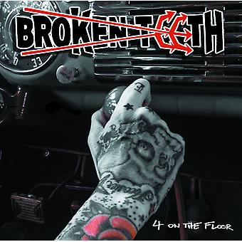 Broken Teeth - 4 on the Floor [Vinyl] USA import