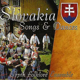 Urpin Folklore Ensemble - importación de Estados Unidos Eslovaquia canciones y danzas [CD]