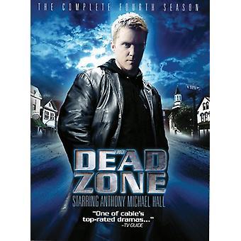 Död zon - Dead Zone: Säsong 4 [DVD] USA import
