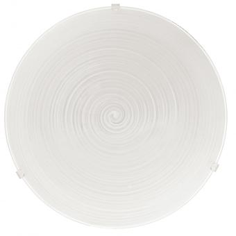 Eglo Malva 2 Light Modern Wall/ceiling Light Nickel Matt Finish