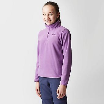 Peter Storm Girl's Coniston 2 Half Zip Fleece Purple