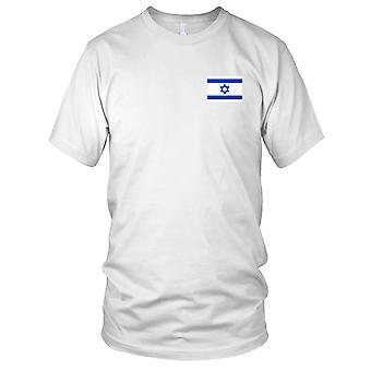 Israël pays drapeau National - Logo - brodé 100 % coton T-Shirt Kids T Shirt
