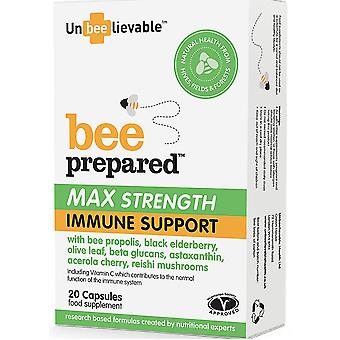 UnBEElievable Health, Max Strength Immune Support, 20 Capsules