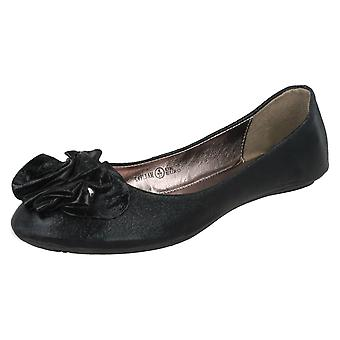 Ladies Update Flat Ballet Shoes