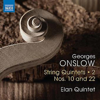 Onslow - import Streichquintette [CD] USA