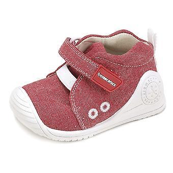Biomecanics Boys 182121 Canvas Shoes Red