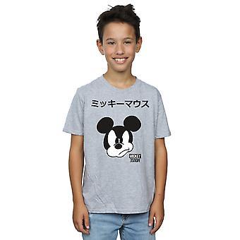 ディズニー男の子ミッキー マウス日本 t シャツ
