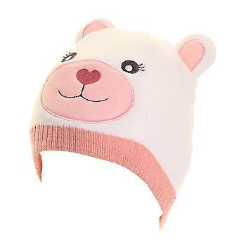 Děti holky zvířecí medvídka Beanie Hat s ušima