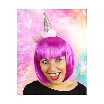 Accesorios para el cabello orejas unicornio en diadema